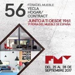 La 56ª edición de Feria del Mueble Yecla abre sus puertas el próximo lunes