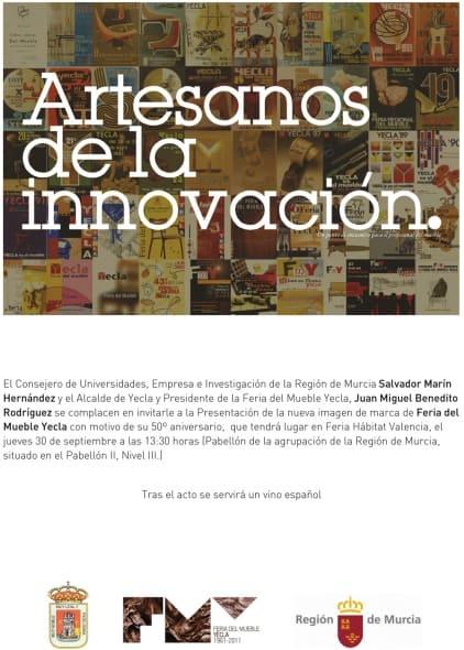Feria del Mueble Yecla presentará su nueva imagen corporativa en la Feria Hábitat Valencia.