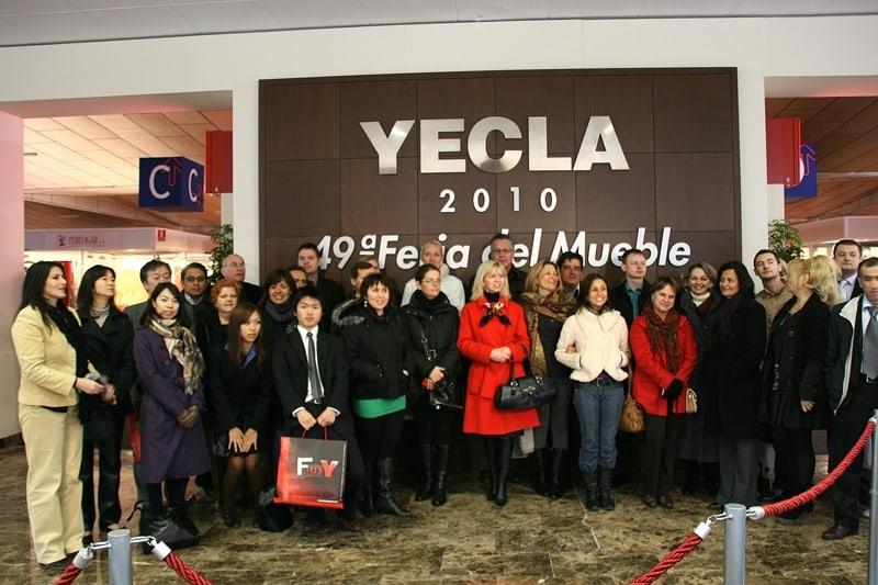 La internacionalización como objetivo principal de Feria del Mueble Yecla.