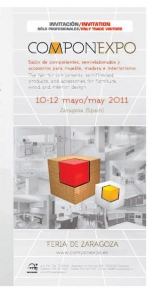 Feria del Mueble Yecla estará presente en Componexpo.