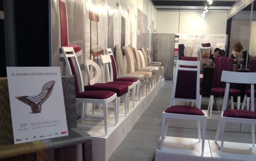 La veintena de industriales yeclanos que expusieron en Gijón han promocionado la Feria del Mueble Yecla