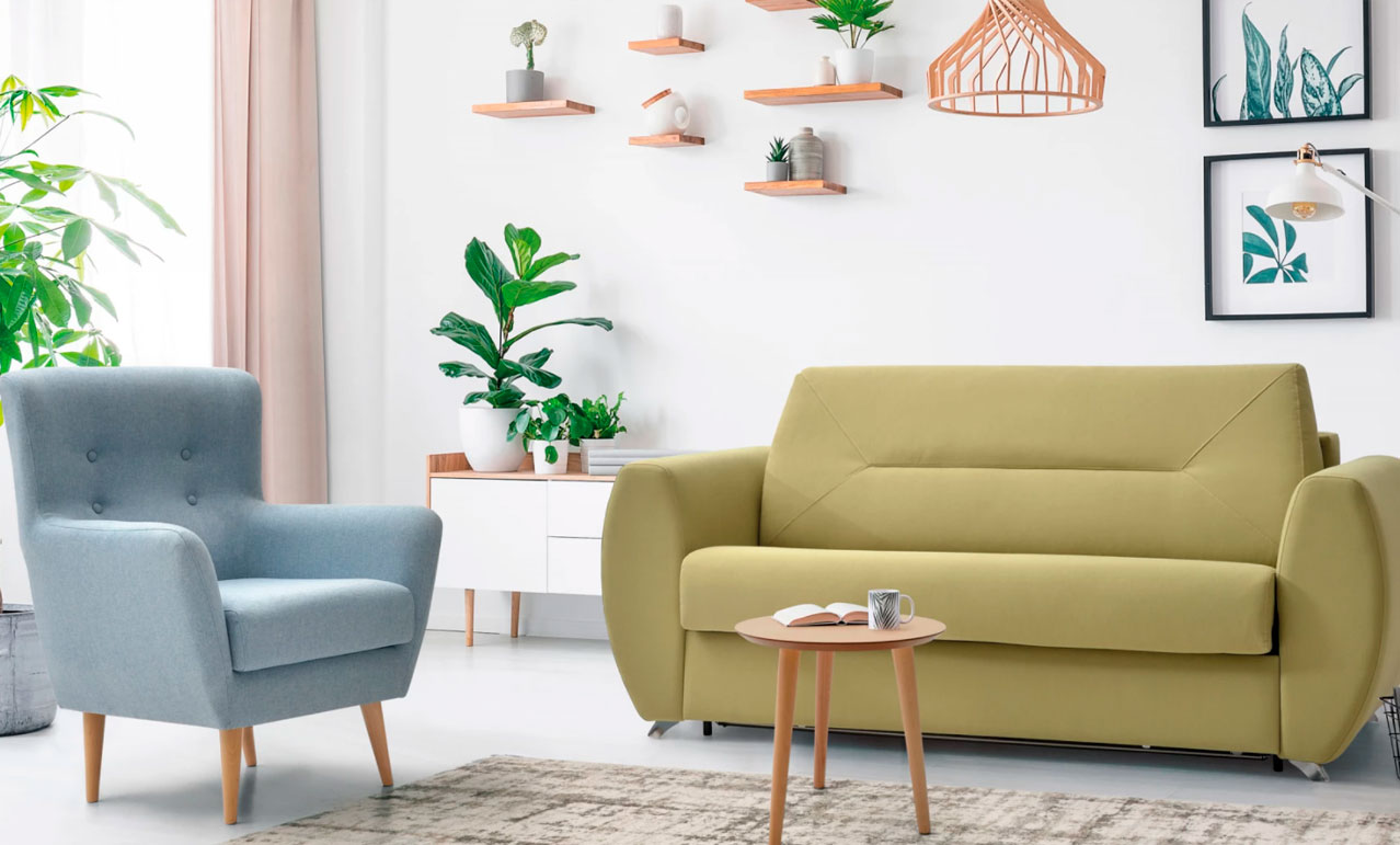 Frances Bañón Tapicería para sofá cama y sillones