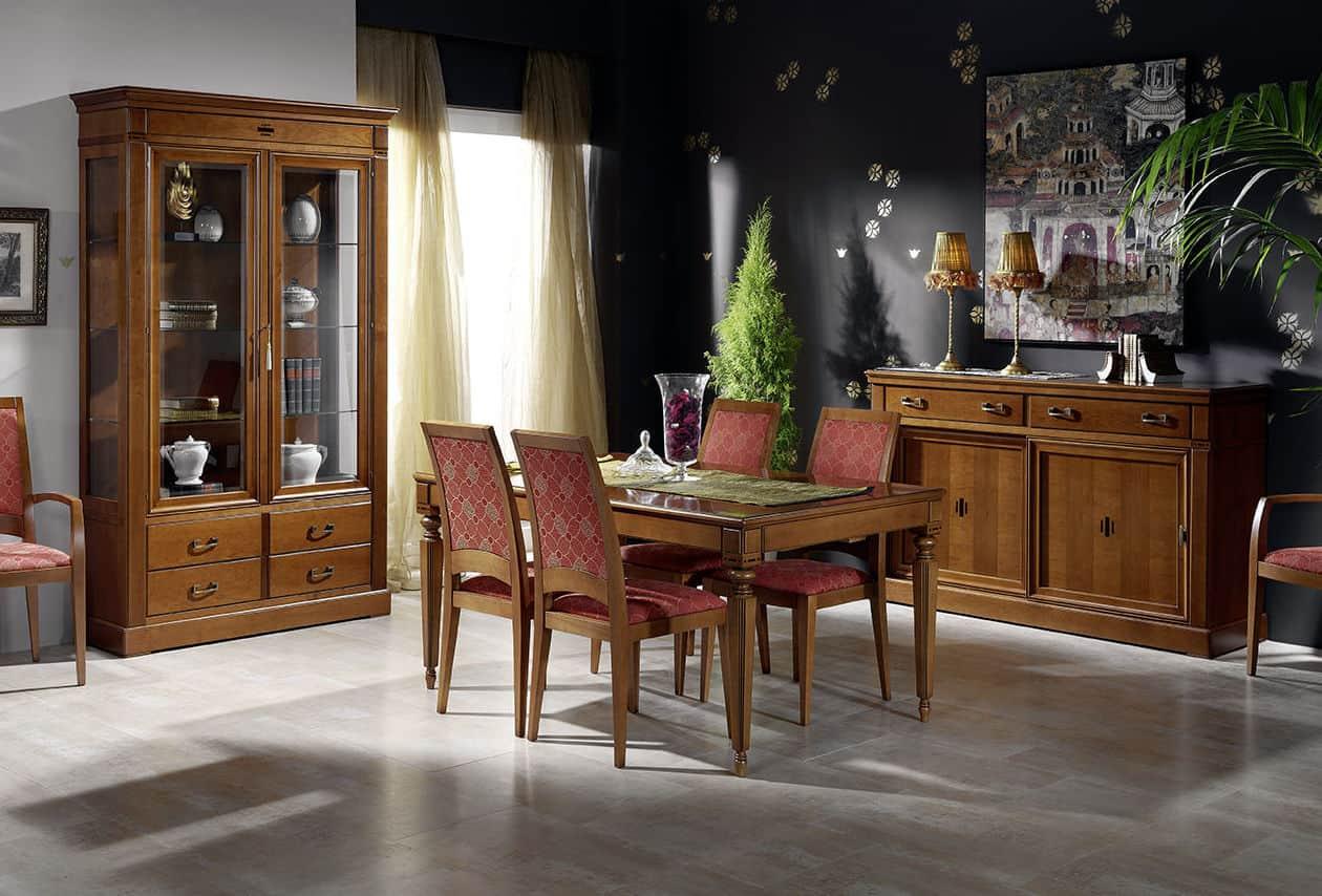 Muebles lino comedor vintage