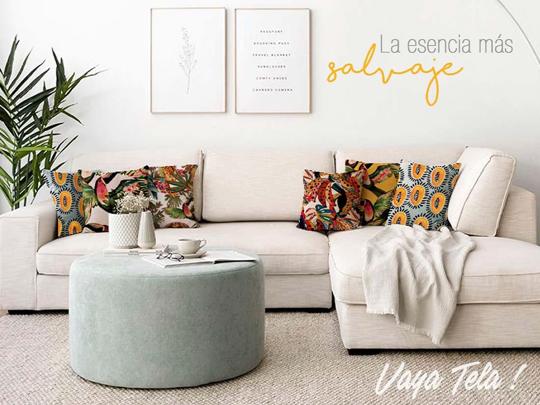 Cabanes & Ortuño especializados en complementos de tapicería, tejidos y textiles