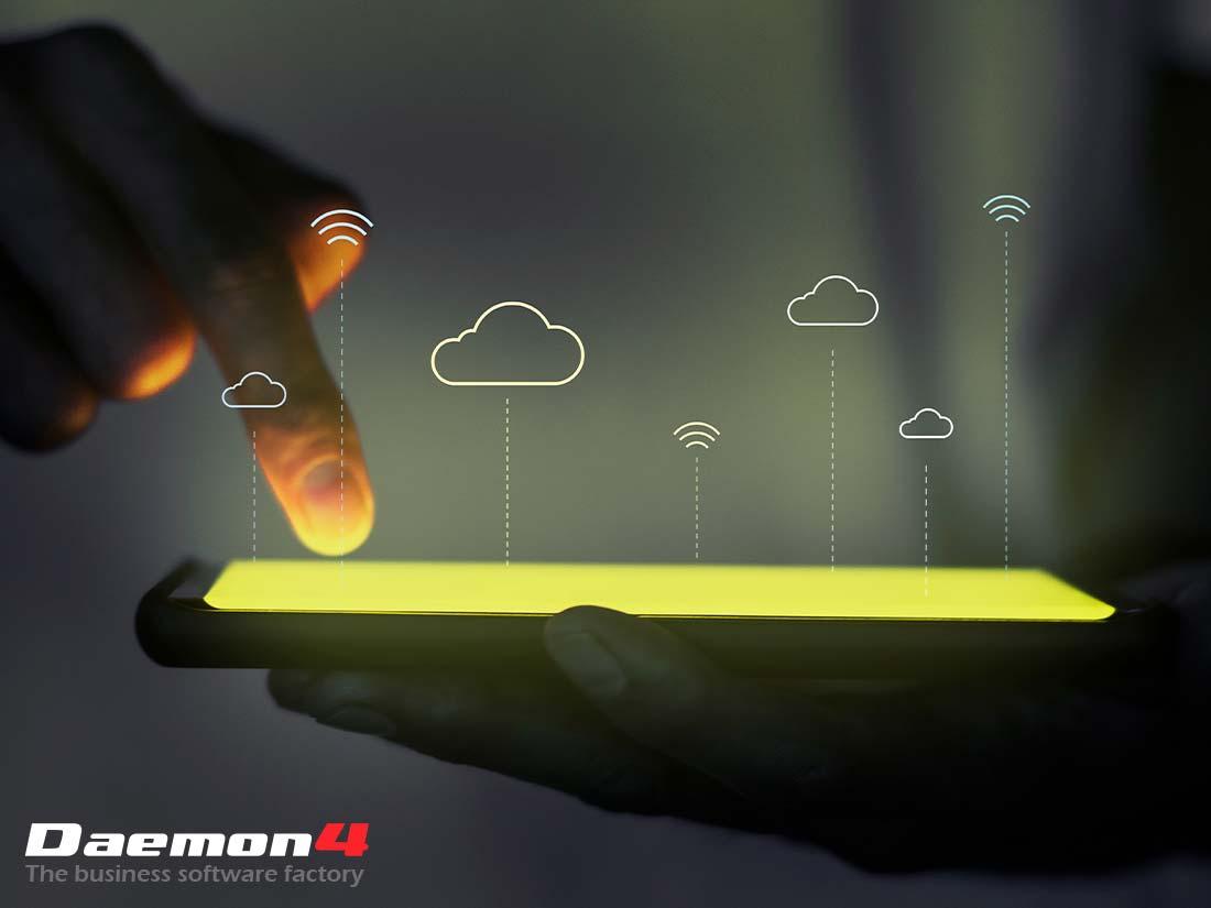Daemon4 expositor FMY servicios informáticos para empresas