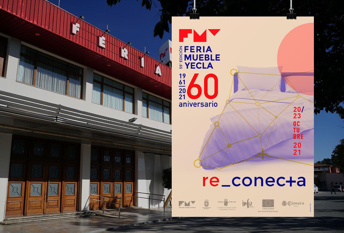 Reconexión, ocio, negocio e internalización son las claves de la 59 edición de la Feria del Mueble Yecla